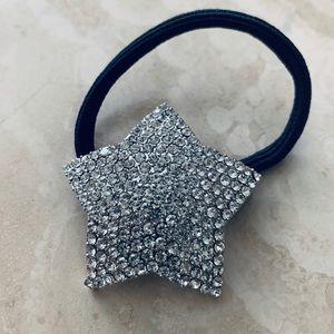 Accessories - Ponytail star hair tie made Swarovski elements